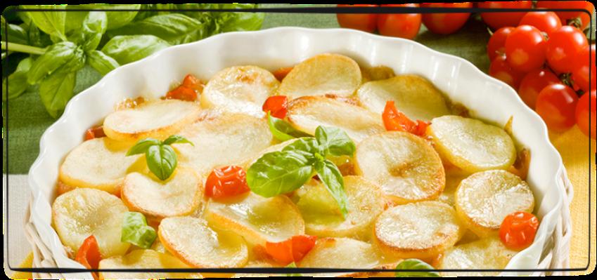 Patate e pomodori